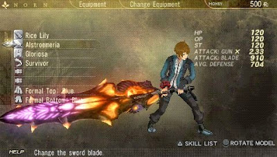 God Eater Burst PSP on Android Apk Terbaru