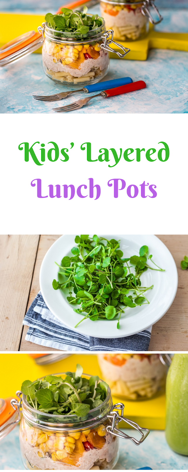 Kids' Layered Lunch Pots: Back to School with Watercress