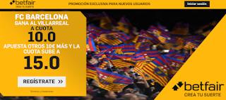 betfair supercuota liga Barcelona gana Villarreal 5 julio 2020