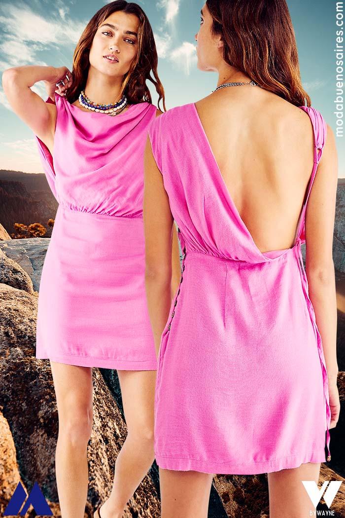 vestido corto moda mujer 2022