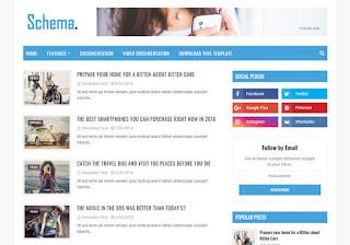 Schema Blogger Template