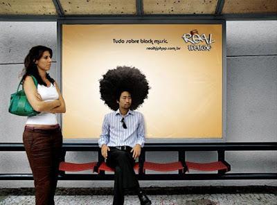 Publicidad y paradas de autobus