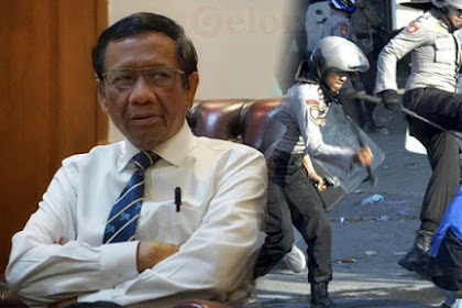 Mahfud MD: Polisi Pukul Mahasiswa Saat Demo Tidak Langgar HAM
