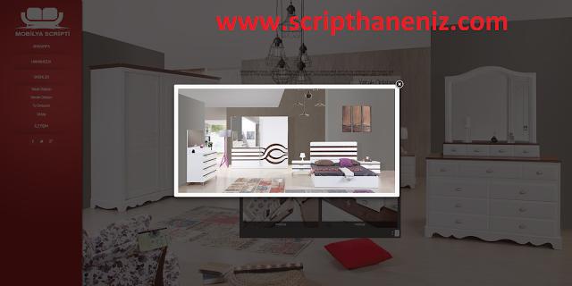 Mobilya Scripti Ürünler Sayfası