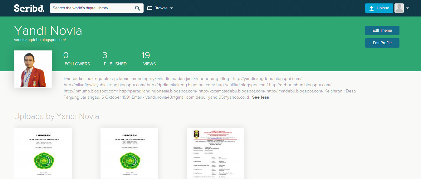 Cara Download File Secara Gratis Di Scribd Com