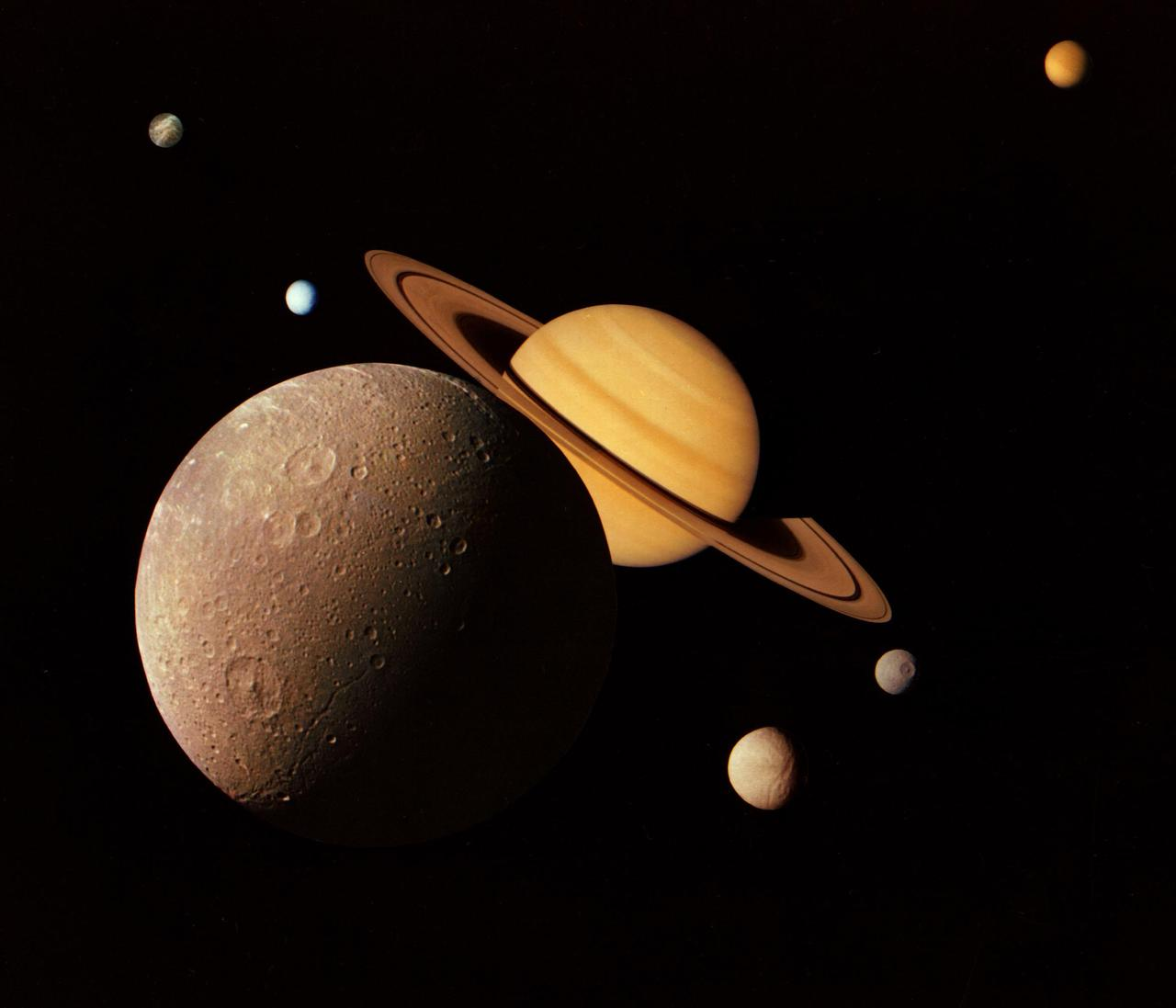 Saturno. Cielo nocturno Benarraba 2020