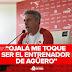 """""""Ojalá me toque ser el entrenador de Agüero"""""""