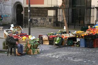 markets, naples, italy