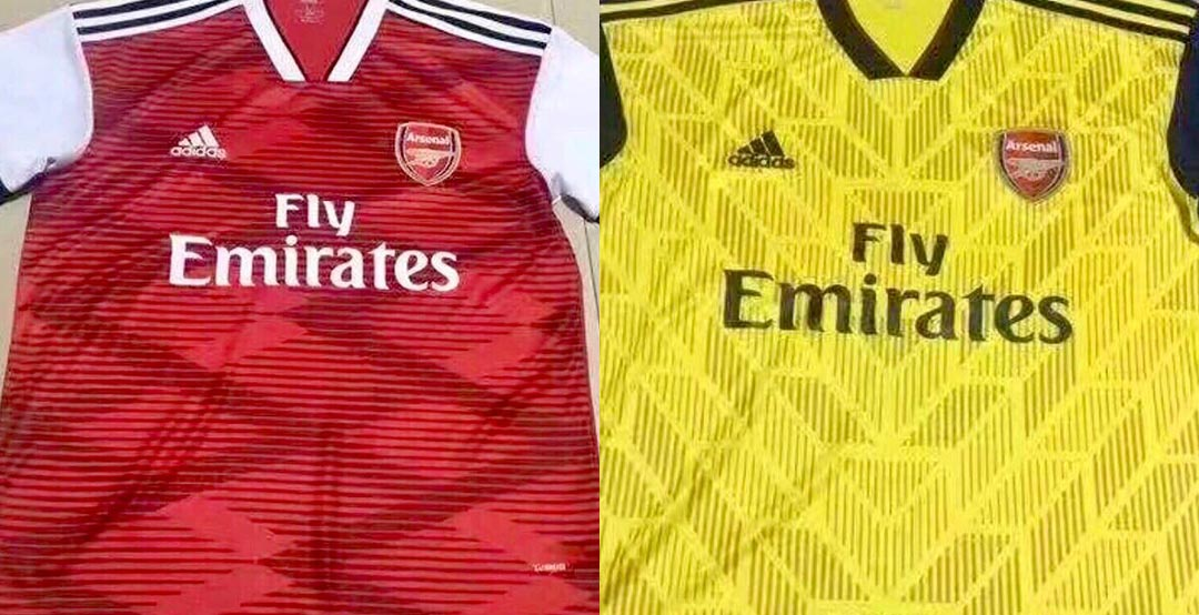 50975e008 Pictures of the proposed Adidas Arsenal 2019-20 kits have been shared on  social media this weekend. But are they the real deal