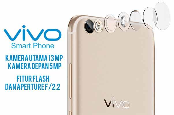 Kamera Utama Vivo Y6513 MP + Kamera Depan 5 MP