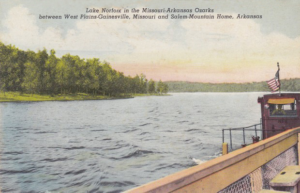 arcane arkansas history  highway 62 and 101 ferries over lake norfork