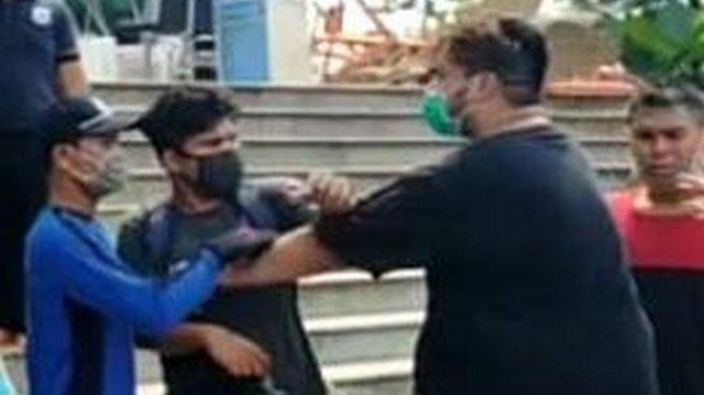 Jurnalis Jadi Korban Intimidasi saat Meliput Kebakaran Gereja Cathedral, Dipaksa Hapus Foto