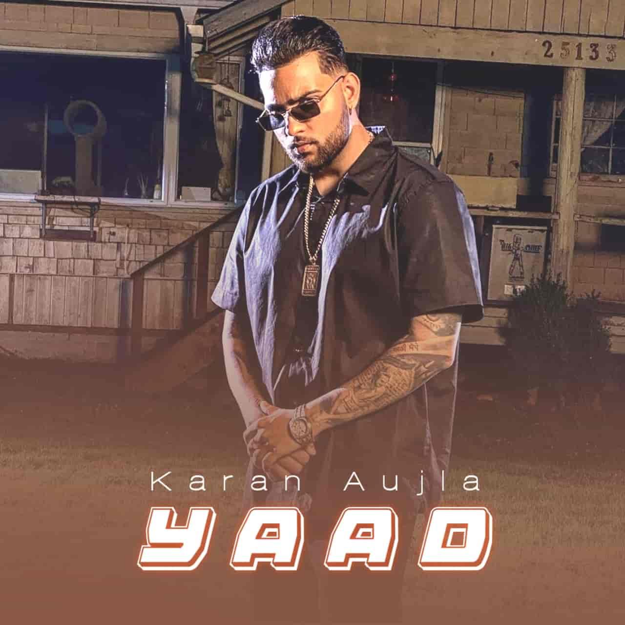 Yaad Punjabi Song Image Features Karan Aujla