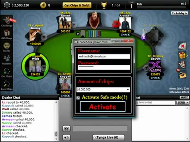 Texas HoldEm Poker Hack 3.1 ~ Games Hack Tool