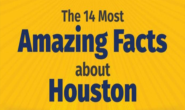 The 14 Most Amazing Facts about Houston #infographic