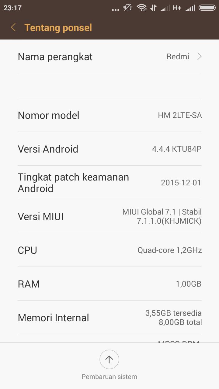 Redmi 2 Frimware Free Download (Tested untuk Redmi 2 8/16gb)