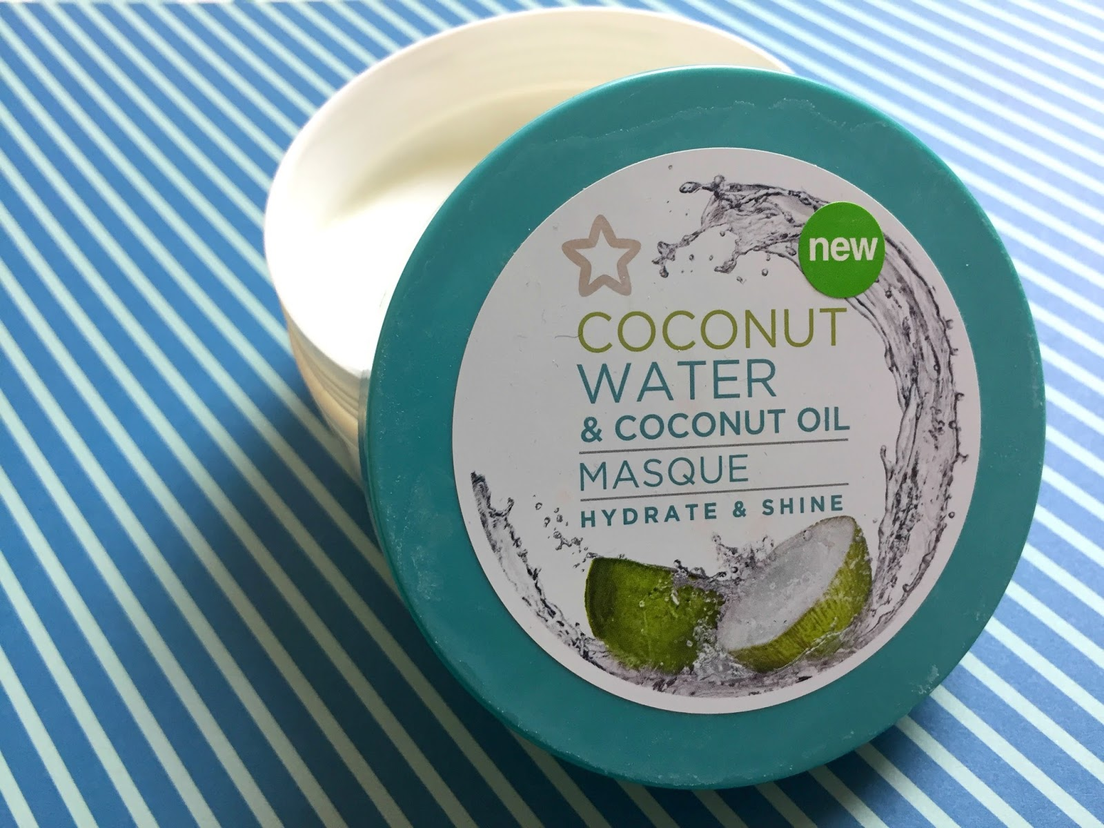 Superdrug Hydrate & Shine Conditioning Masque with Coconut Water