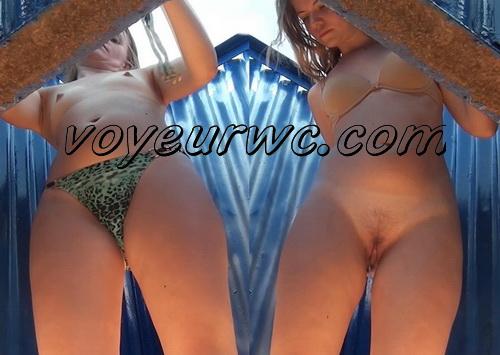 Beach Cabin 2370-2378 (Spy Cam - Best scenes of nude amateur body in beach change cabin)