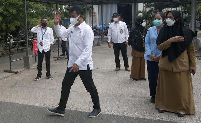 Walikota Batam Mengujungi RSUD Embung Fatimah dan RSBP Batam