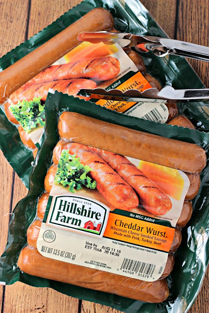 Ultimate Chili Dogs | by Renee's Kitchen Adventures - easy recipe for a quick grilled meal make with smoked sausages, chili and toppings #ad #GrillLegendary