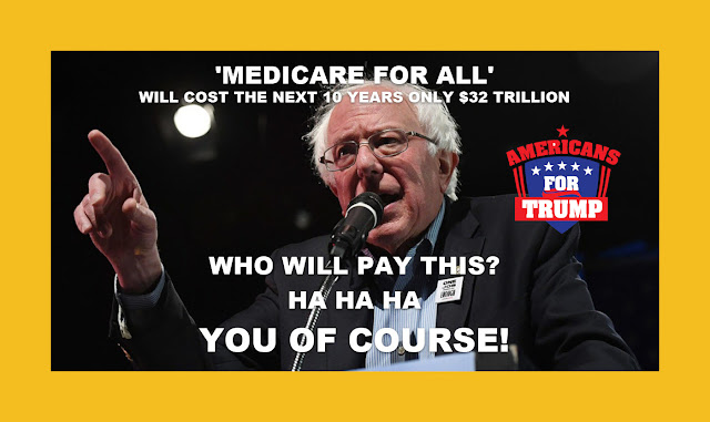 Memes: 'MEDICARE FOR ALL' WILL COST THE NEXT 10 YEARS ONLY $32 TRILLION