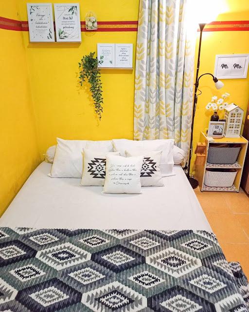 Warna Kuning untuk Kamar Tidur