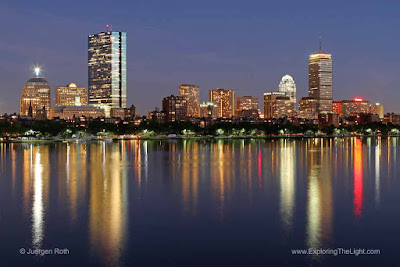 Boston Back Bay Charles River Skyline photos