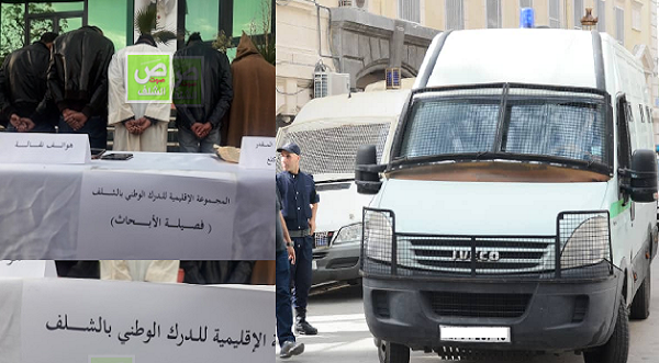 """إيداع شخصين الحبس و وضع 3 تحت الرقابة في قضية """"ناب الفيل"""" بالشلف"""