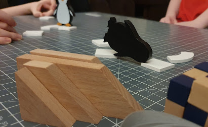 Penguin  Party gameplay in action on table