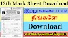 12th Std Mark sheet Download 2021 - How to