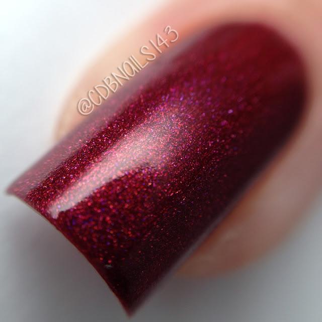 Daily Hues Nail Lacquer-Crimson