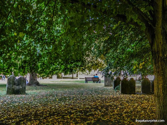 Jardins da Catedral de Winchester, Inglaterra