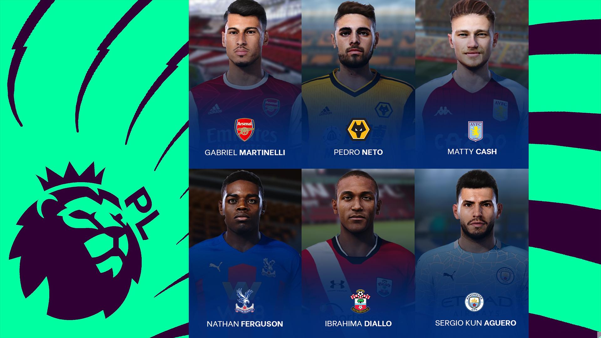 PES 2021 Premier League Facepack vol. 2