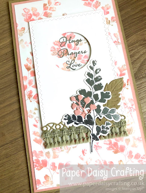 Nigezza Creates with Stampin' Up! & Paper Daisy Crafting and Positive Thoughts