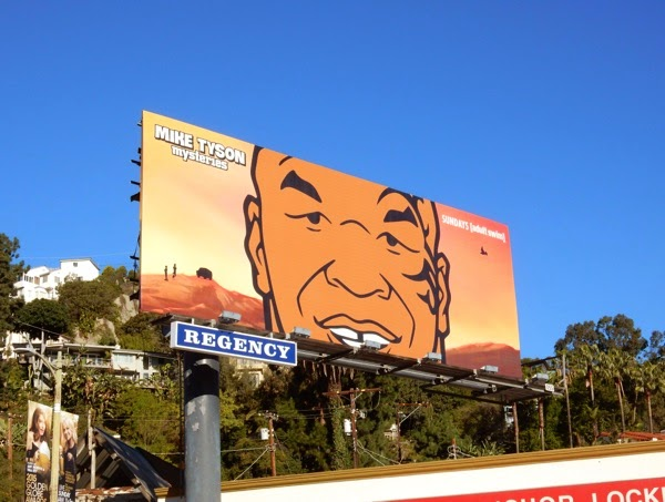 Mike Tyson Mysteries season 1 billboard