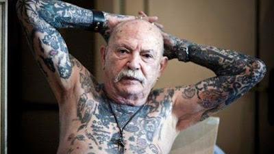 Έτσι δείχνουν τα τατουάζ σε γερασμένα σώματα