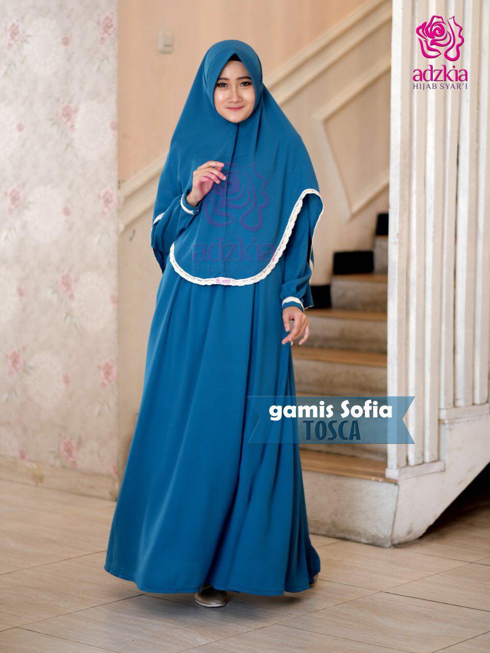 Maulidya Adzkia Hijab Syari Sofia Set Gamis Only Facebook