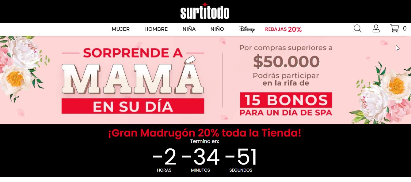 Promo Surti Todo Colombia 2021