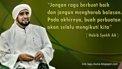 Lirik Lagu Mabruk Alfa Mabruk - Habib Syech