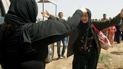 Wanita etnis Yazidi berhasil bebas dari dekapan ISIS