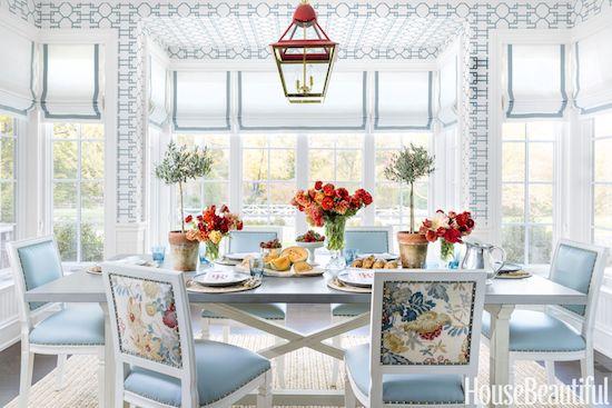 ashley-whittaker-breakfast-room-0318-1517932409 Home Tour: Spring Awakening In Darien Interior