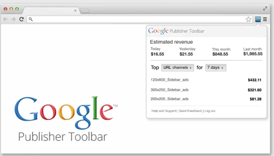 Google Publisher Toolbar Terbaru