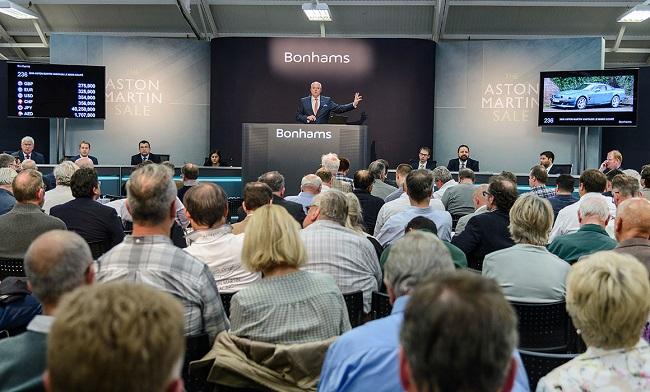 18th annual Aston Martin Sale