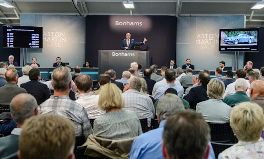 £5 million of Aston Martins sold at Bonhams