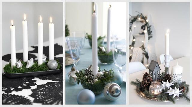 Elige un bonito centro para tu mesa de Navidad