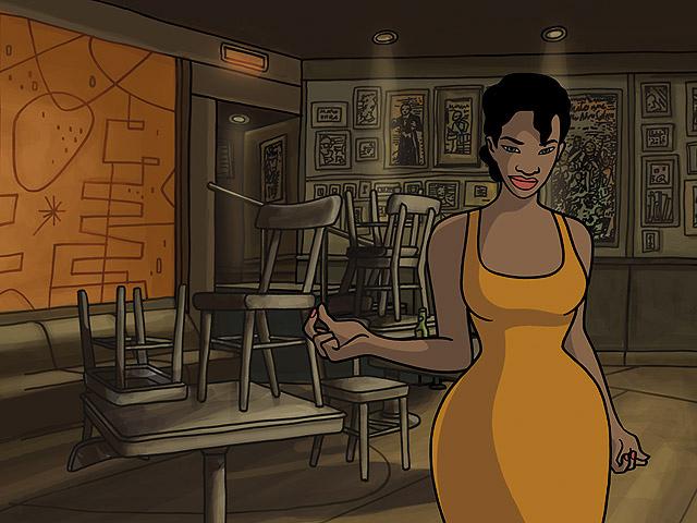 Imagen de la película española de animación Chico y Rita