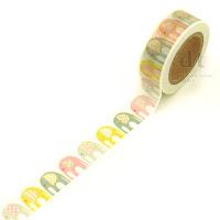 http://www.dekoracyjnatasma.pl/p692,dekoracyjna-papierowa-washi-biala-w-kolorowe-pastelowe-slonie-15-mm-x-10-m.html