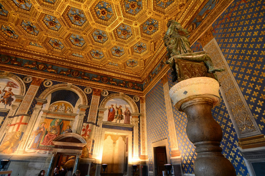 salle des lys Palazzo Vecchio