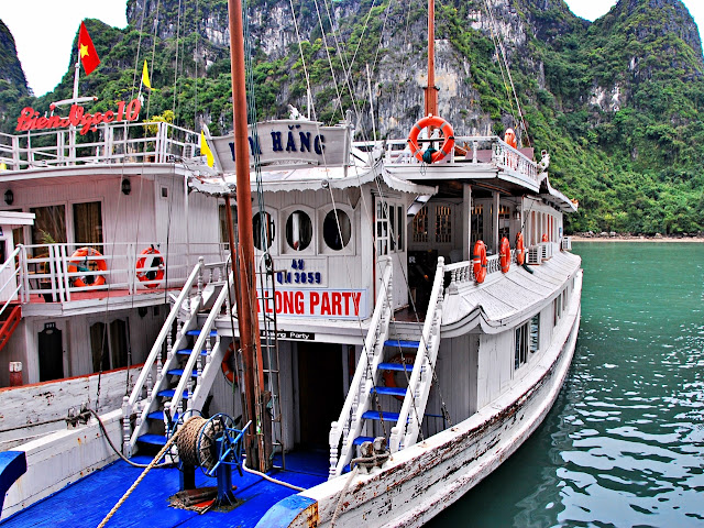 Junk boat in Halong Bay