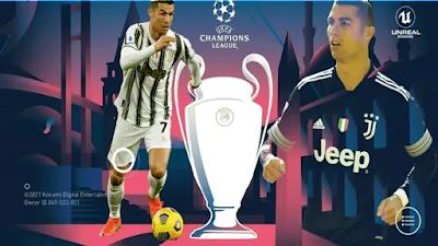 تنزيل ملف لعبة بيس 2021 موبايل بمود دوري ابطال اوروبا UEFA Champions League